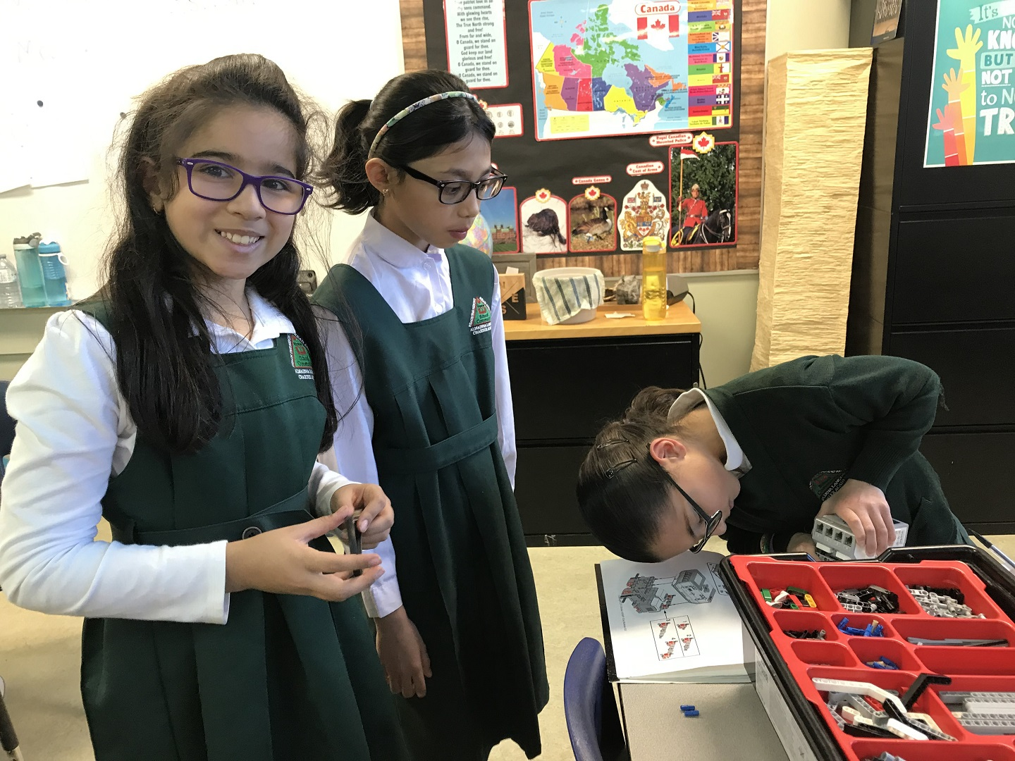 f6b5cb4e5ff ... uses half human and half robot. They had a mind storming time! We  couldn t do it without Ms. Raja and the grade four and three teachers and  the EV3 ...